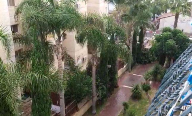 גשם חזק החל לרדת בירושלים. צפו