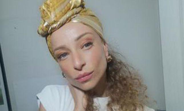 השחקנית יוליה פלוטקין בסרטון קשירת מטפחת צפו