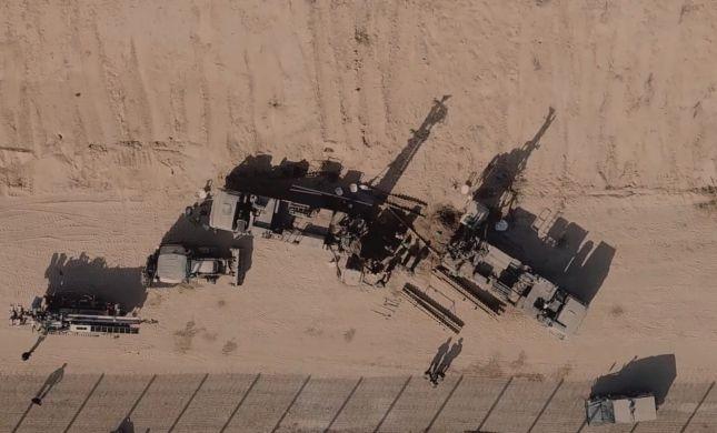 אותרה מנהרה שחדרה מעזה לשטח ישראל. צפו בתיעוד