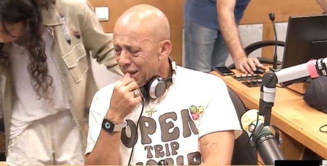 צפו: דידי הררי פורץ בבכי בשיר של חנן בן ארי