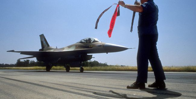 צפו: הפרידה מטייסת 117, שהפציצה את הכור בעיראק
