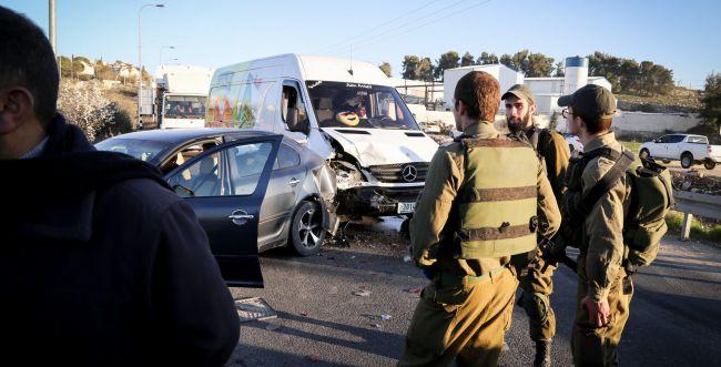 תאונת דרכים קטלנית ליד עפרה. נהג כבן 40 נהרג