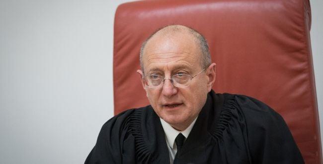 """השופט שטיין נזף בעותר: """"אין לכם זכות עמידה"""""""