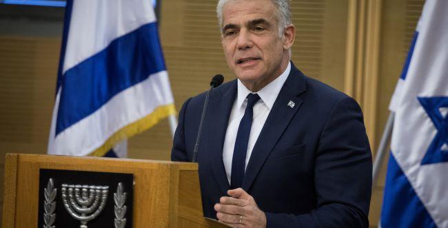 """לפיד: """"בשבוע הבא נעלה הצעת חוק לפיזור הכנסת"""""""