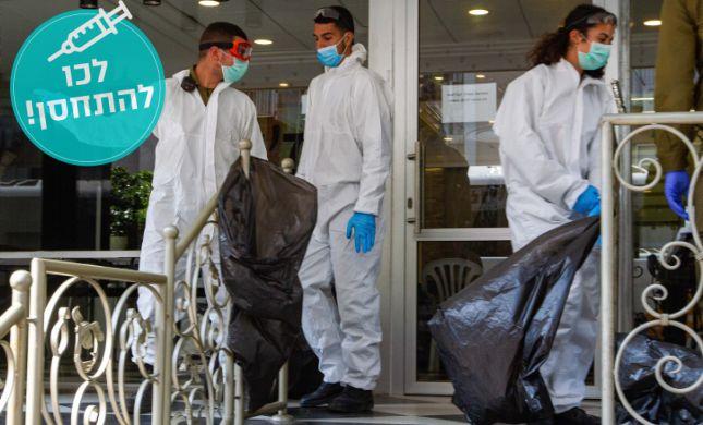 הקורונה בישראל:יותר חולים בתל אביב מאשר בבני ברק