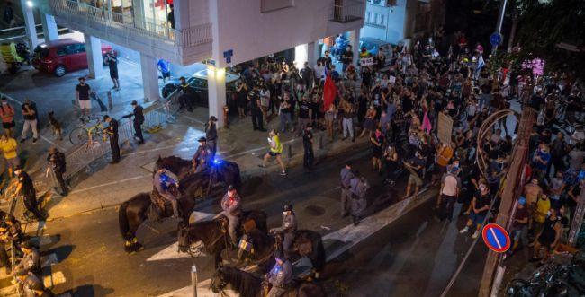 עימותים במחאה נגד נתניהו: 38 מפגינים נעצרו