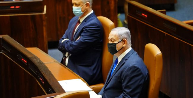 ממשלת האחדות מתפרקת: גנץ יצביע בעד פיזור הכנסת
