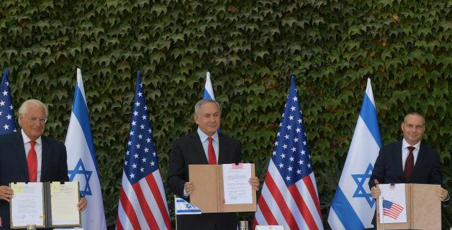 """הסכם היסטורי עם ארה""""ב: הקו הירוק כבר לא רלוונטי"""