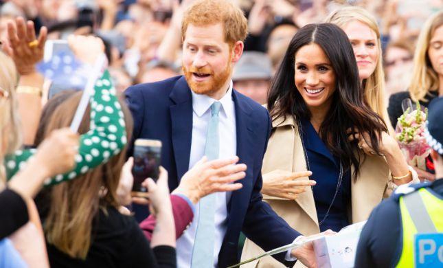 הנסיך הארי ומייגן מרקל חוזרים לבריטניה