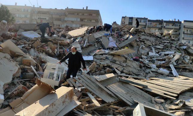 """טורקיה סירבה לסיוע מצה""""ל בעקבות רעידת האדמה"""