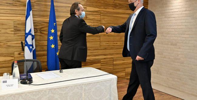 גנץ לנציגי האיחוד האירופי: לא להסכם עם איראן
