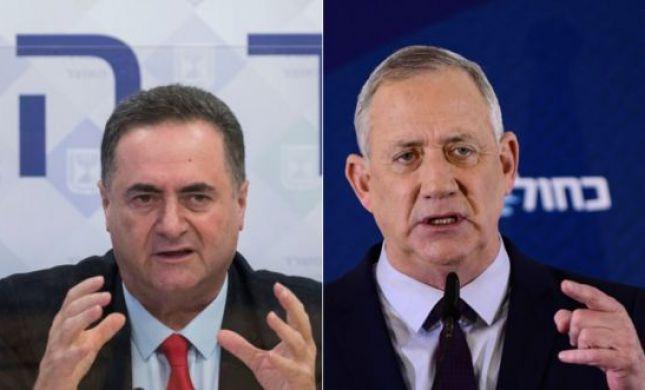 """ישראל כ""""ץ מציע לגנץ להגיע להסכמות על התקציב"""