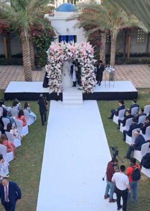 מזל טוב: חתונה יהודית ראשונה בדובאי • צפו