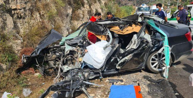 הרוג בתאונת דרכים קטלנית סמוך ליישוב עפרה