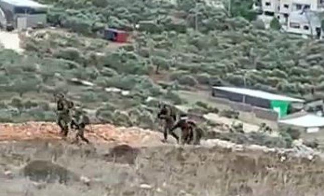 צפו: שלושה ערבים נעצרו אחרי ניסיון חדירה ליצהר