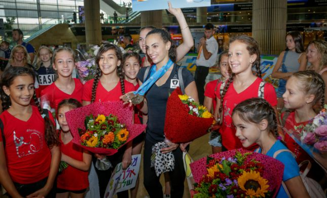 לינוי אשרם זכתה באליפות אירופה