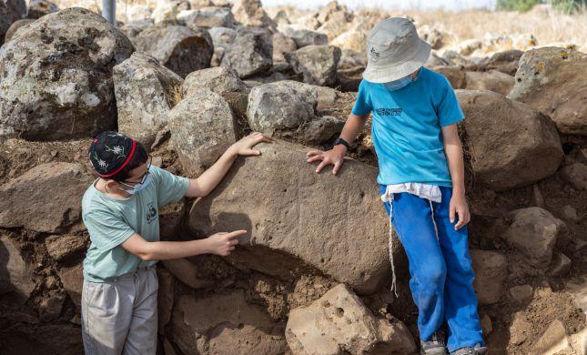 מבצר מימי דוד המלך התגלה ליד הישוב חיספין