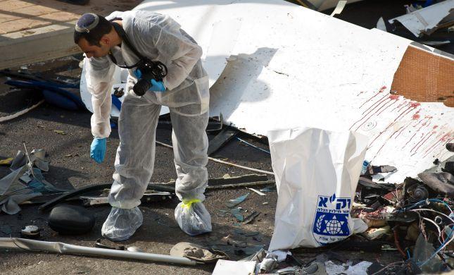 מטוס קל התרסק ליד משמר הנגב; 2 הרוגים