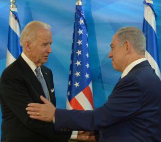 ויראלי בשידור חי: נתניהו חיקה את הנשיא ג'ו ביידן • צפו