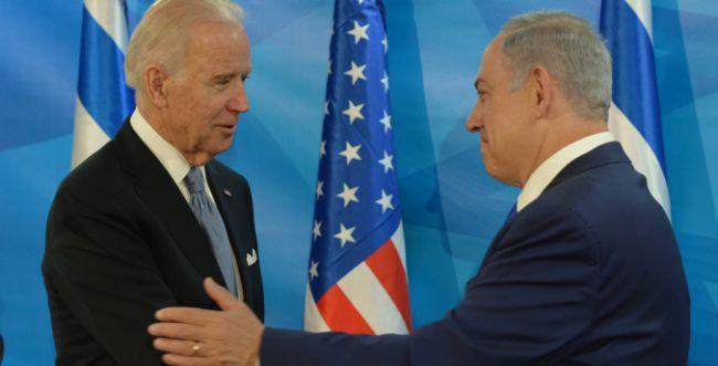 בשידור חי: נתניהו חיקה את הנשיא ג'ו ביידן • צפו