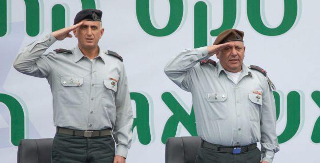 צפו: כשהיימן ואייזנקוט חצו את הגדר לגבול הסורי