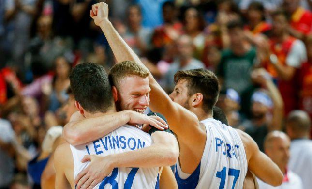 הישג לנבחרת ישראל: ניצחון יוקרתי על אלופת העולם