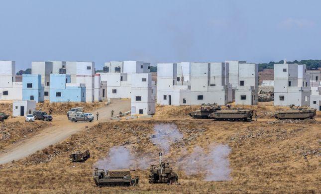 """צה""""ל חשף זירת מטענים סמוך לגדר הגבול עם סוריה"""