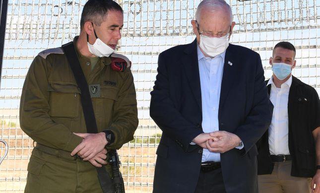 """הנשיא: """"עוטף עזה הוא עוטף ישראל כולה"""""""