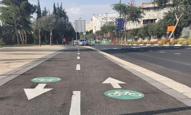 ירושלים: נחנך שביל אופניים חדש בקריית המוזיאונים