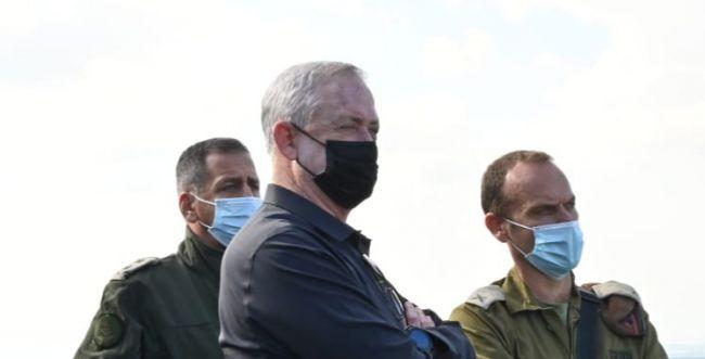 גנץ: המטענים שנמצאו ברמת הגולן- באחריות סוריה