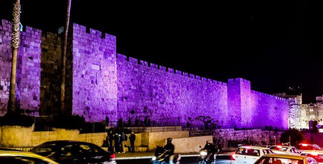 ירושלים תואר בסגול למען ילדים עם מוגבלויות