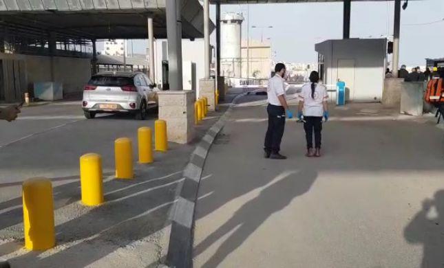 נסיון פיגוע דקירה במחסום קלנדיה, המחבל נוטרל
