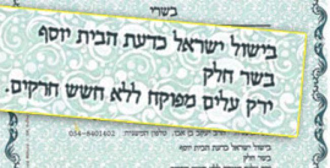 """כושרות על הכשרות בחיפה: """"אסור לטייח את הביקורת"""""""