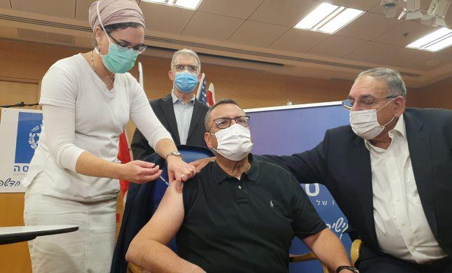 """משה ליאון קיבל חיסון לקורונה: """"אין מה לחשוש"""""""