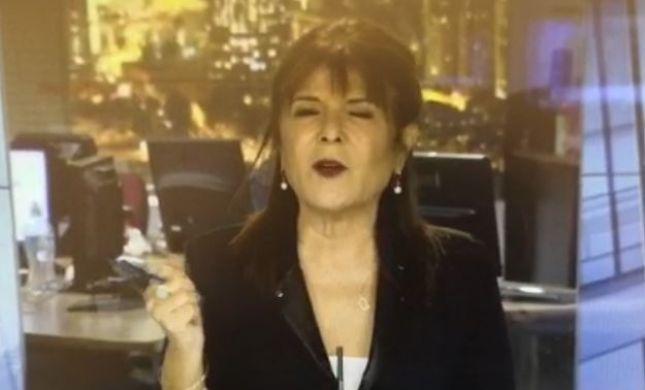 רינה מצליח קיבלה בלק אאוט בשידור. צפו
