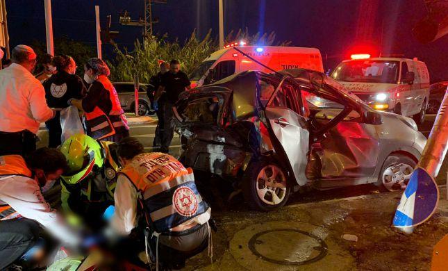 הרוגה ופצועה אנוש בתאונת דרכים בשפלה
