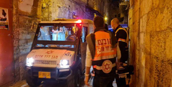 פצוע בפיגוע ירי בירושלים; המחבל נוטרל