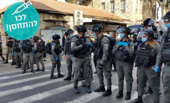 שוב עימותים בין שוטרים לחרדים במאה שערים. צפו