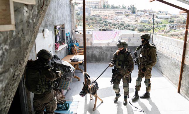 """תיעוד: כך תופסים אמל""""ח וכסף טרור בהר חברון"""