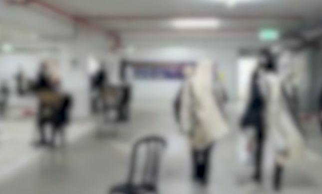 צפו: המשטרה פשטה על מניין בחניון תת קרקעי בלוד
