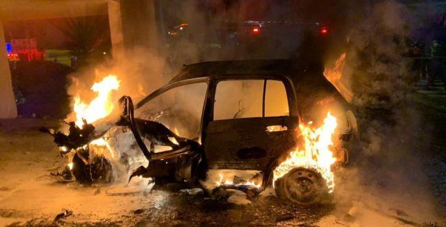 פיצוץ ברכב בלוד: בן 30 במצב קשה מאוד