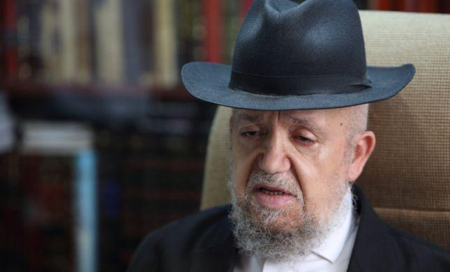 הרב מאזוז הורה לסגור את כל מוסדות החינוך