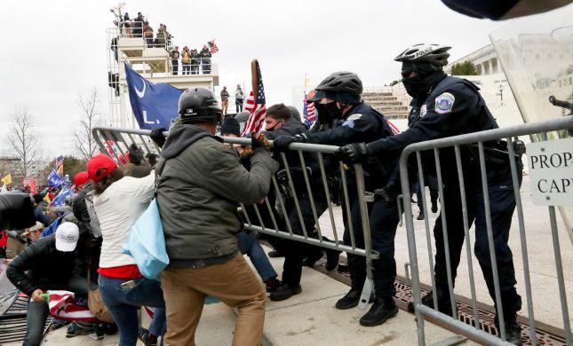 מהומות בוושינגטון: תומכי טראמפ פרצו לקפיטול