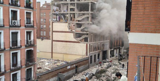 ספרד: פיצוץ עז במדריד, לפחות שני הרוגים במקום