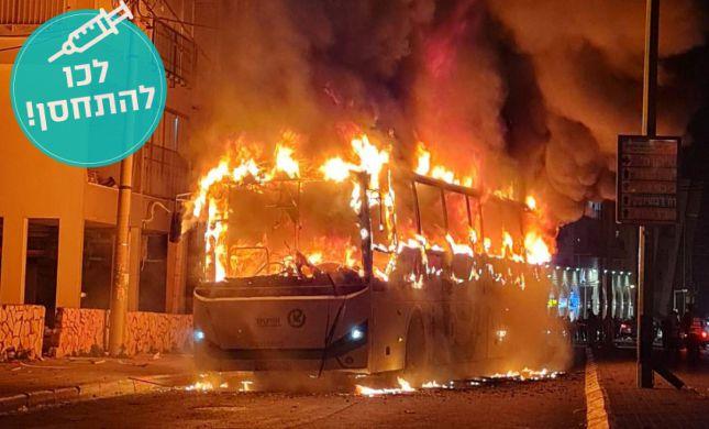 """נהג האוטובוס שהוצת בבני ברק: """"זה פיגוע לכל דבר"""""""