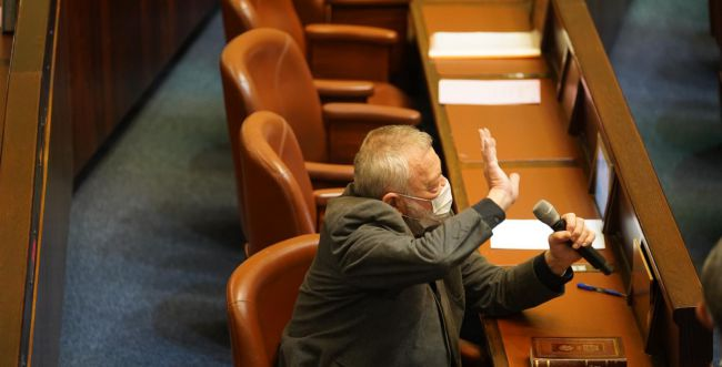 """חזר למשכן: ח""""כ אילן גילאון הושבע במליאת הכנסת"""