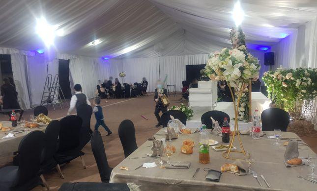 צפו:המשטרה פיזרה חתונות המוניות בבית שמש ואשדוד