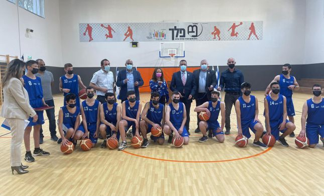 אחרי שנתיים: אולם ספורט חדש נחנך באורט פלך