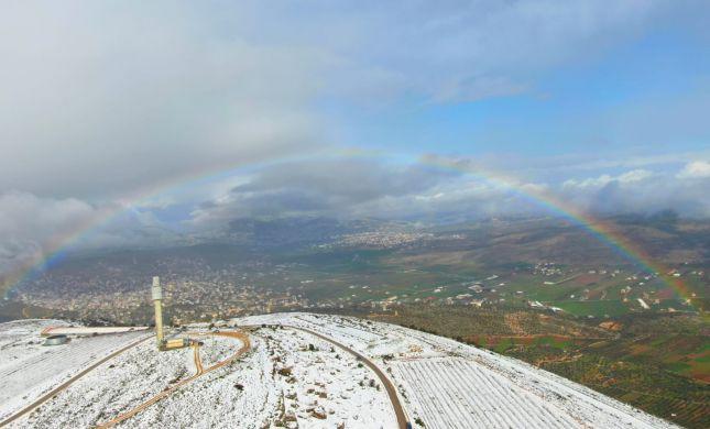קר מהרגיל, ברד ושלג לא רק בחרמון: תחזית מזג אוויר