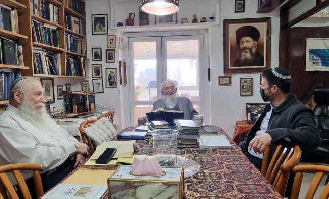 סמוטריץ' הצטרף לחברותא עם הרב דרוקמן והרב ולדמן